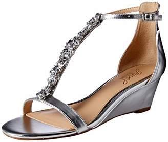 Badgley Mischka Jewel Women's Darrell Wedge Sandal