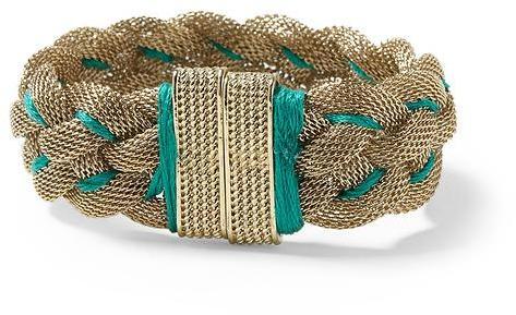 Pim + Larkin Braided Mesh Bracelet