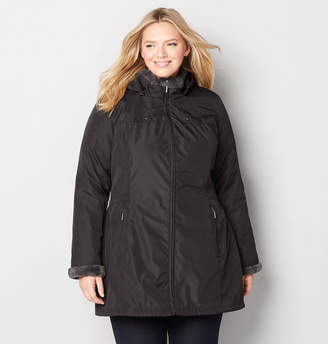 Avenue Anorak with Faux Fur Lining