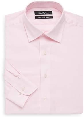 Saks Fifth Avenue Men's Slim-Fit Plaid Cotton Dress Shirt