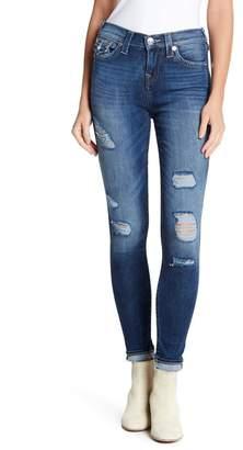 True Religion High Rise Super Skinny Jeans