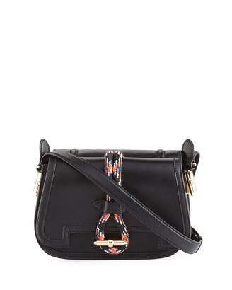 Carven Leather Rope Saddle Bag