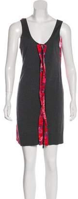 Paco Rabanne Silk Mini Dress