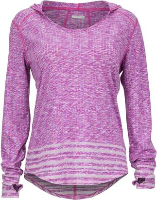 Marmot Natasha Burnout Hooded Shirt - Long-Sleeve - Women's