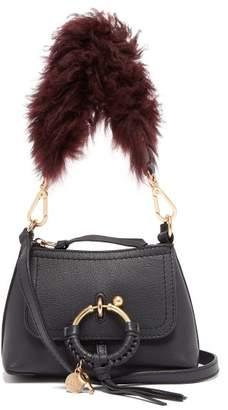 See by Chloe Joan Mini Leather Cross Body Bag - Womens - Navy Multi