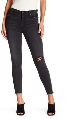 Joe's Jeans Charlie High Waisted Fray Ankle Hem Jeans
