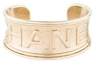 Chanel Logo Cuff Bracelet