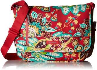 Vera Bradley Laptop Messenger Cotton Messenger Bag
