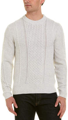 J. Lindeberg Fedor Cable-Knit Wool Sweater