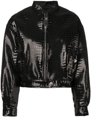Just Cavalli zipped bomber jacket