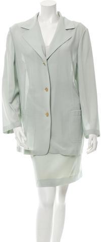 Jil SanderJil Sander Wool Skirt Suit