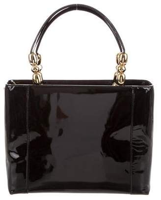 Christian Dior Leather Malice Tote