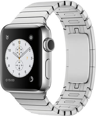 Apple Watch Series 2 38mm Stainless Steel Case with Silver Link Bracelet