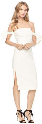Milly ITALIAN CADY BRIT DRESS