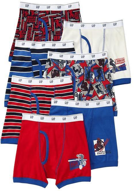 Gap BMX boxer briefs (7-pack)