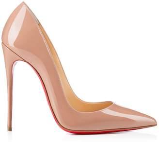 Christian Louboutin So Kate Nude Patent Stilettos