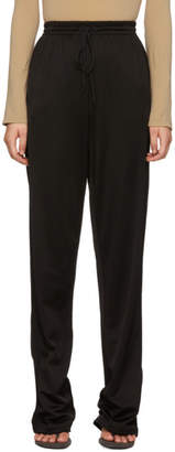 Maison Margiela Black Knit Side Lounge Pants