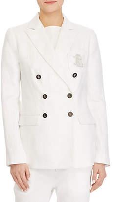 Lauren Ralph Lauren Double-Breasted Linen Jacket