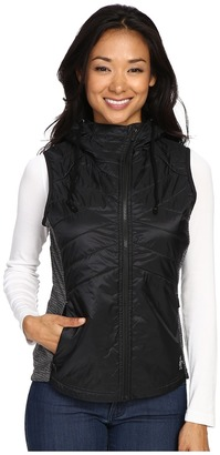 Smartwool - Double Propulsion 60 Hooded Vest Women's Vest $160 thestylecure.com