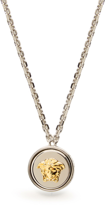 VERSACE Medusa necklace $295 thestylecure.com