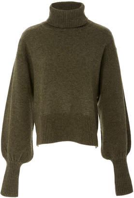 Marissa Webb Sloane turtleneck wool blend sweater