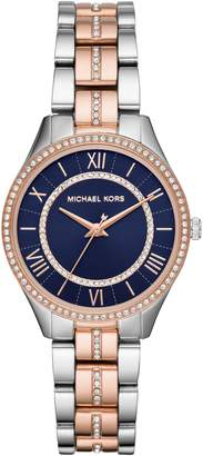 Michael Kors Lauryn Crystal Bracelet Watch, 33mm