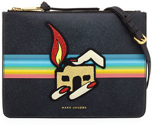 Marc Jacobs Marc Jacobs Saturn Flat Crossbody Bag