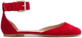 RED Valentino ankle strap ballerinas