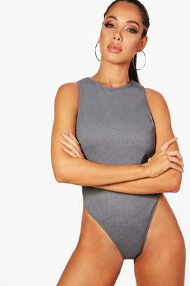 boohoo Palma Low Arm Swimsuit
