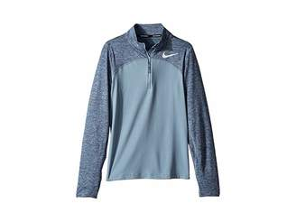 Nike Dry Element Long Sleeve 1/2 Zip Top (Little Kids/Big Kids)