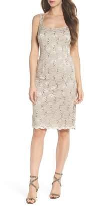 Alex Evenings Sequin Lace Dress with Bolero Jacket