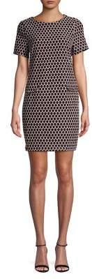 Dorothy Perkins Geometric-Print Shift Dress
