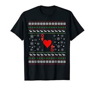 Card Player Christmas TShirt