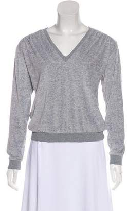 Amo Fleece V-Neck Sweatshirt