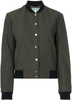 Kenzo embroidered tiger bomber jacket $540 thestylecure.com