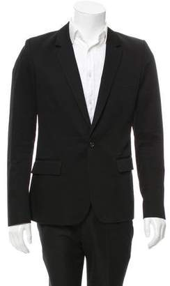 Surface to Air Notch-Lapel One-Button Blazer