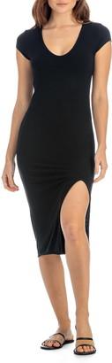 Tavik Kai Ribbed Cover-Up Dress