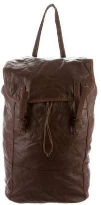Bottega Veneta Leather-Trimmed Coated Backpack