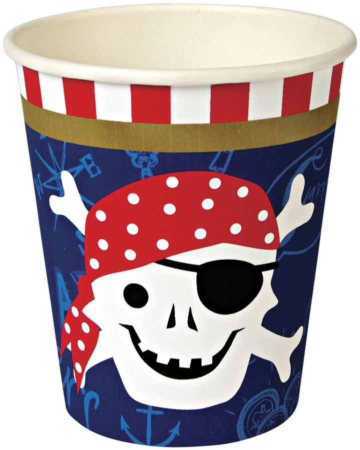 Meri Meri AHOY Pirate Party Cups