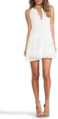 Cynthia Vincent Lace Inset Dress