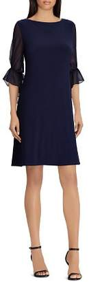 Ralph Lauren Poet-Sleeve Jersey Dress