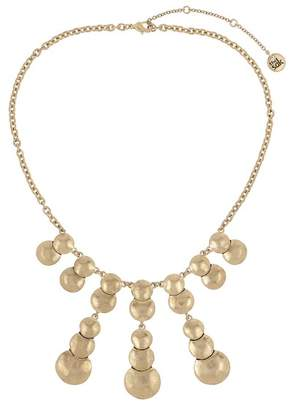 The Sak Layered Circles Frontal Necklace