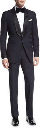 Tom Ford O'Connor Base Shawl-Collar Tuxedo, Navy