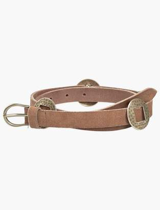 Lucky Brand Hammered Concho Belt