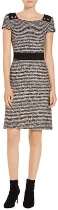 St. John Inlaid Eyelash Knit Dress