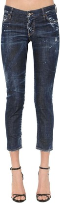 DSQUARED2 Jennifer Dark Wash Cotton Denim Jeans