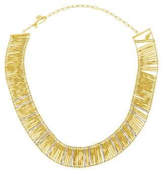 H.Stern 18K Diamond Filaments Collar Necklace