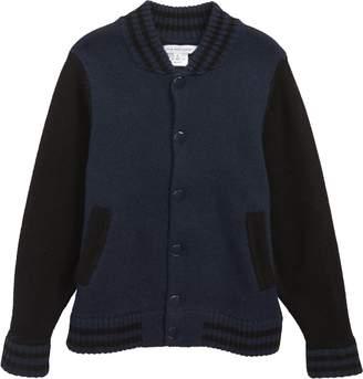 Little Marc Jacobs Wool Knit Cardigan