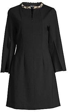 Misook Women's Ponte Embellished Dress