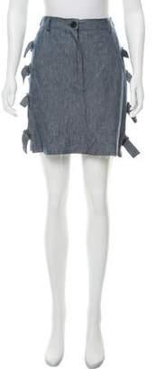 Area Di Barbara Bologna Mini Buckle Skirt w/ Tags